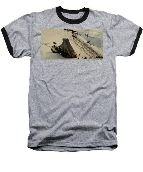Broken Tree Baseball T-Shirt