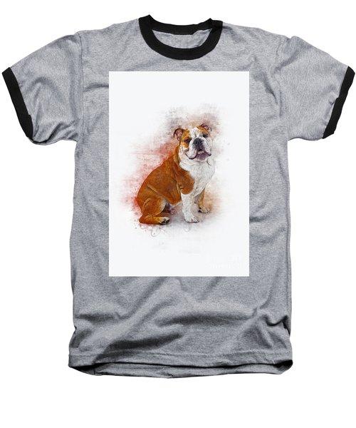 Bulldog Baseball T-Shirt