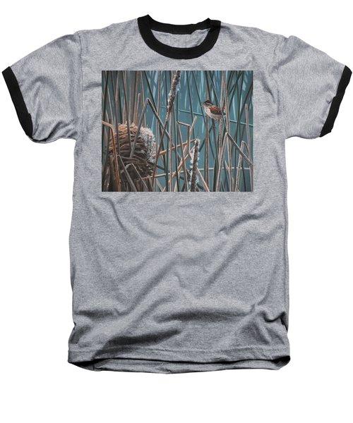 Cattail Hideaway Baseball T-Shirt