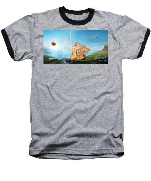 City On The Sea Baseball T-Shirt