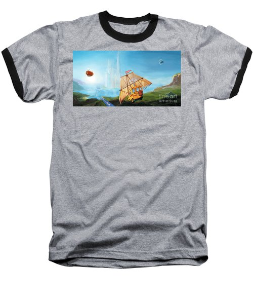 City On The Sea Baseball T-Shirt