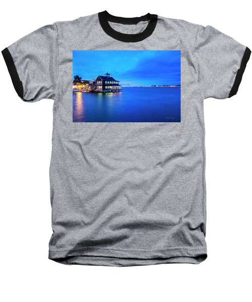 Dinner On The Bay Baseball T-Shirt