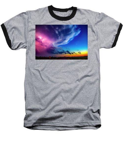Epic Nebraska Lightning 007 Baseball T-Shirt