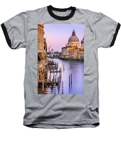 Evening Light In Venice Baseball T-Shirt