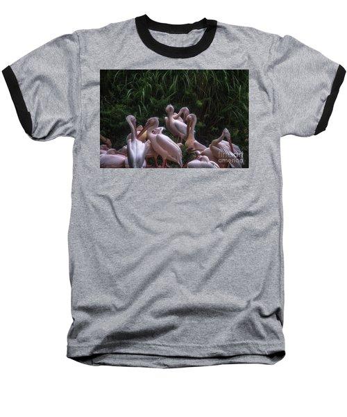 Family Meeting Baseball T-Shirt