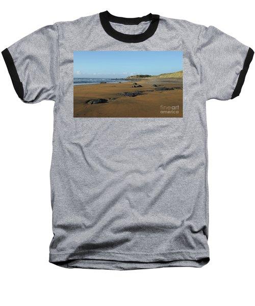 Fanore Beach Baseball T-Shirt