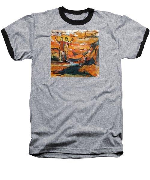 Feel The Warm Baseball T-Shirt