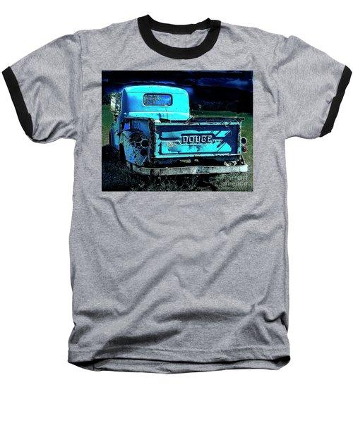 Green Dodge Baseball T-Shirt
