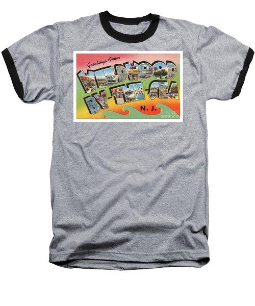 Wildwood Greetings - Version 3 Baseball T-Shirt