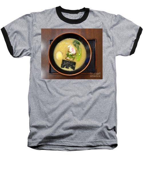 Japanese Miso Noodle Soup Baseball T-Shirt