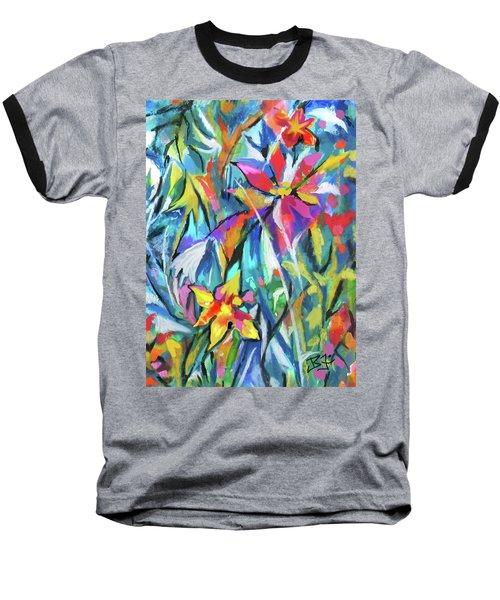 Jungle Garden Baseball T-Shirt