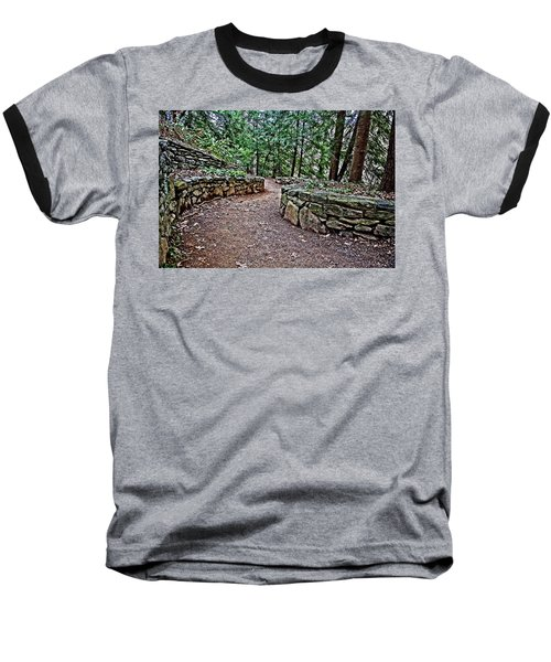 Just Around The Bend Baseball T-Shirt