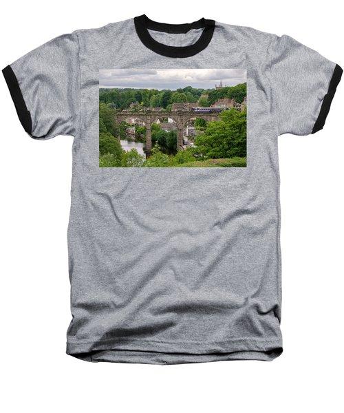 Knaresborough Viaduct  Baseball T-Shirt