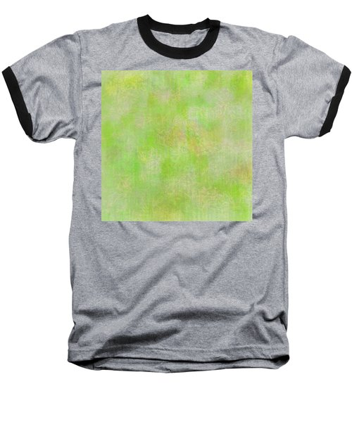 Lime Batik Print Baseball T-Shirt