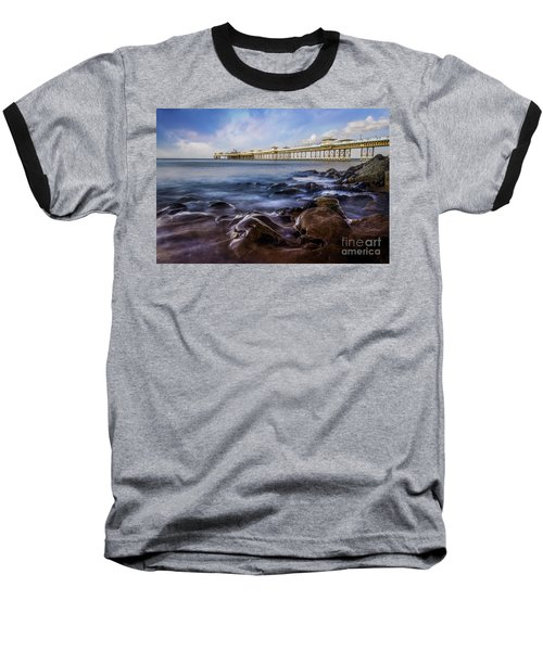 Llandudno Pier Baseball T-Shirt