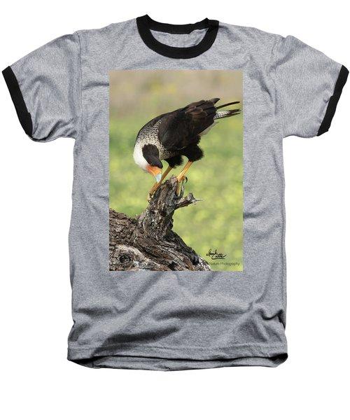 Looking Down Baseball T-Shirt