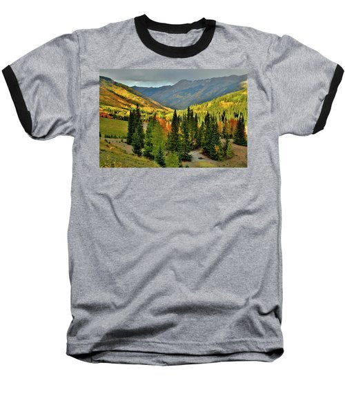 Looking North From Red Mountain Pass Baseball T-Shirt
