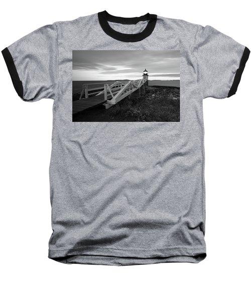 Marshall Point Light Baseball T-Shirt
