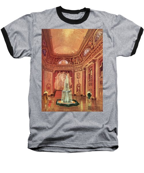 Mastbaum Theatre Baseball T-Shirt