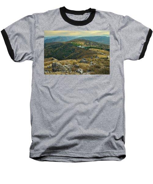 Monastery Agion Anargiron Above Argos Baseball T-Shirt