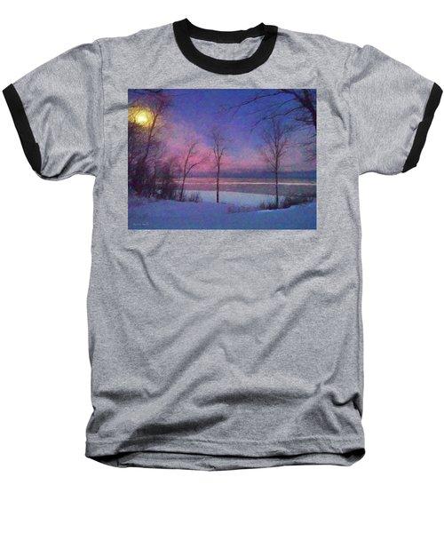 Moonset Baseball T-Shirt