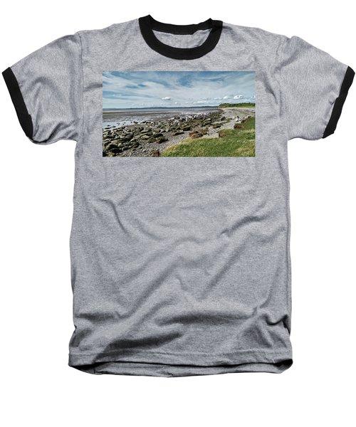 Morecambe. Hest Bank. The Shoreline. Baseball T-Shirt