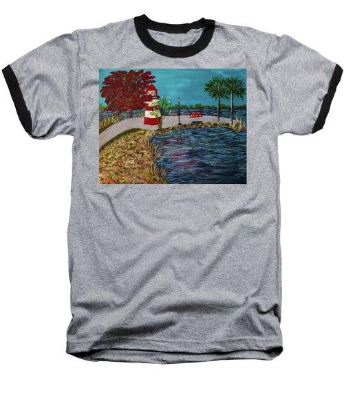 Mount Dora Lighthouse Baseball T-Shirt