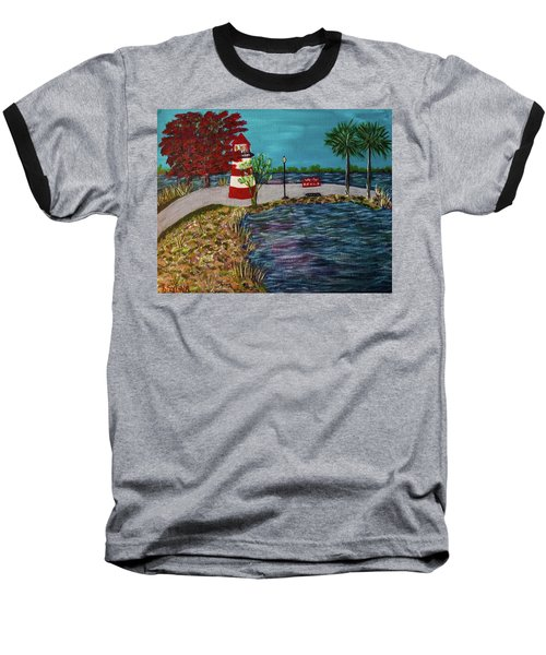 Mount Dora Lighthouse Baseball T-Shirt