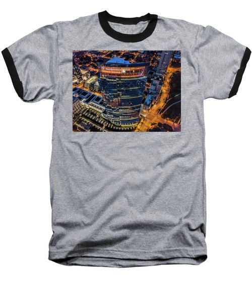 Northwestern Mutual Tower Baseball T-Shirt
