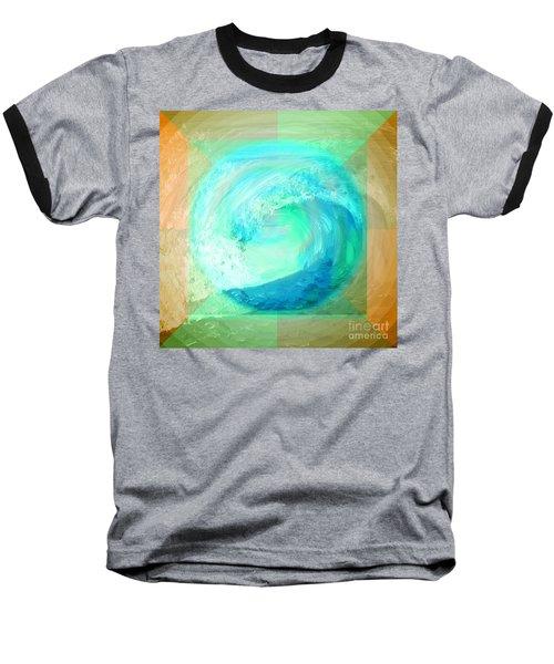 Ocean Earth Baseball T-Shirt