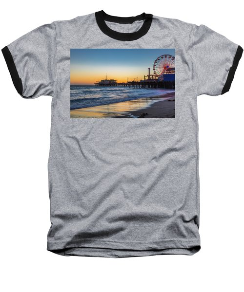 Pacific Park On The Pier Baseball T-Shirt