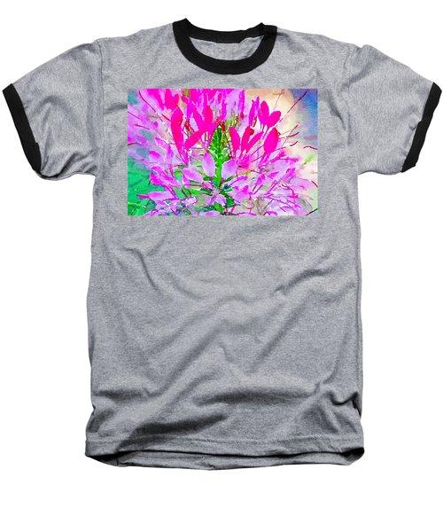 Pink Queen Watercolor Baseball T-Shirt
