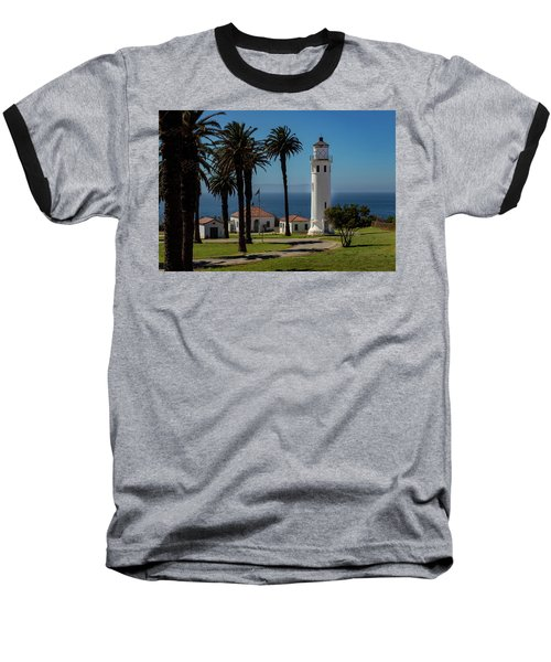 Point Vicente Lighthouse Baseball T-Shirt