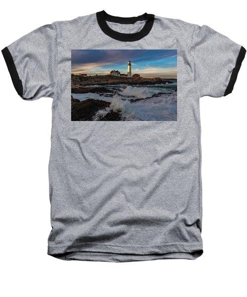 Portland Headlight Baseball T-Shirt