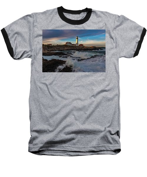 Portland Headlight Baseball T-Shirt