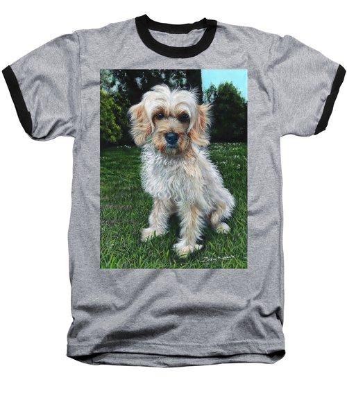 Portrait Of Toffee Baseball T-Shirt
