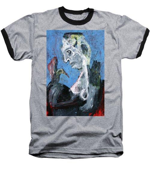 Portrait With A Bird Baseball T-Shirt