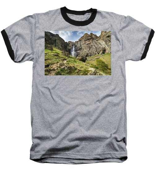 Raysko Praskalo Waterfall, Balkan Mountain Baseball T-Shirt