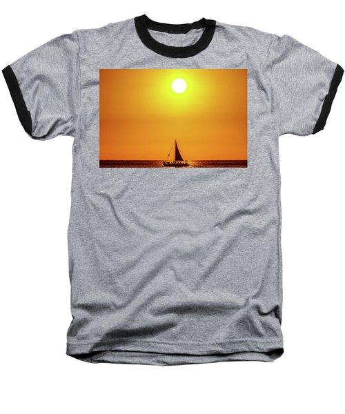 Sail Away Baseball T-Shirt
