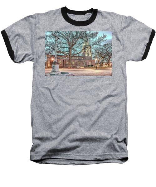 Saint Annes Circle With Fountain Baseball T-Shirt