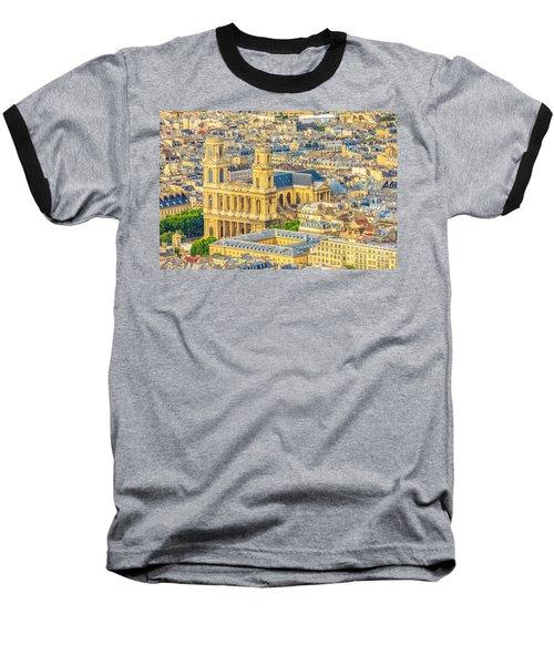 Saint Sulpice Church Paris Baseball T-Shirt