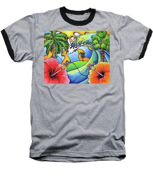 South Texas Disc Golf Baseball T-Shirt