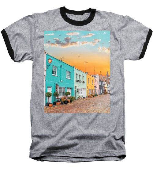 Sunset Street Baseball T-Shirt