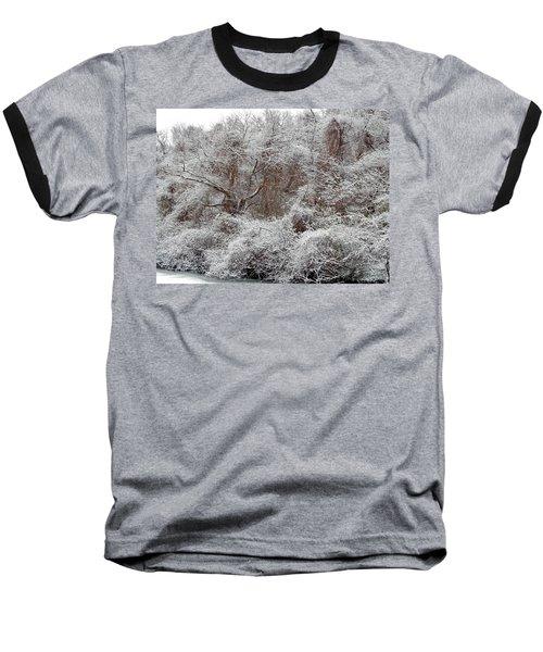 Baseball T-Shirt featuring the photograph The Forest Hush by Lynda Lehmann