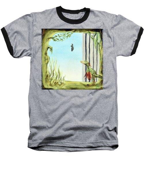 The Origin Of Species -a Recurring Pattern- Baseball T-Shirt