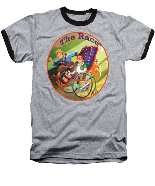 The Race Baseball T-Shirt