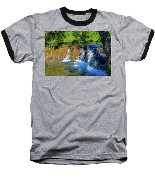 The Springs In It's Summer Green, Big Hill Springs Provincial Re Baseball T-Shirt