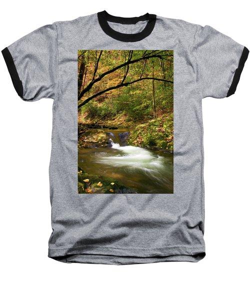 Water Swirl Baseball T-Shirt