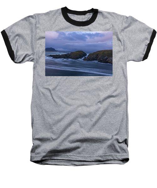Waves At The Shore Baseball T-Shirt