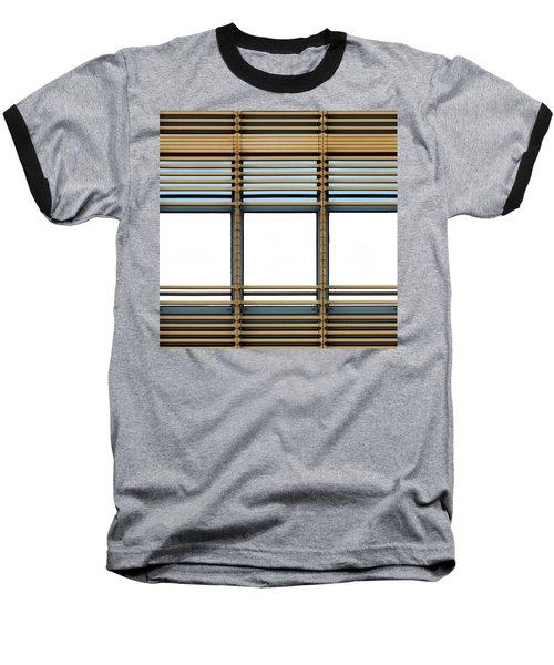White Windows Baseball T-Shirt